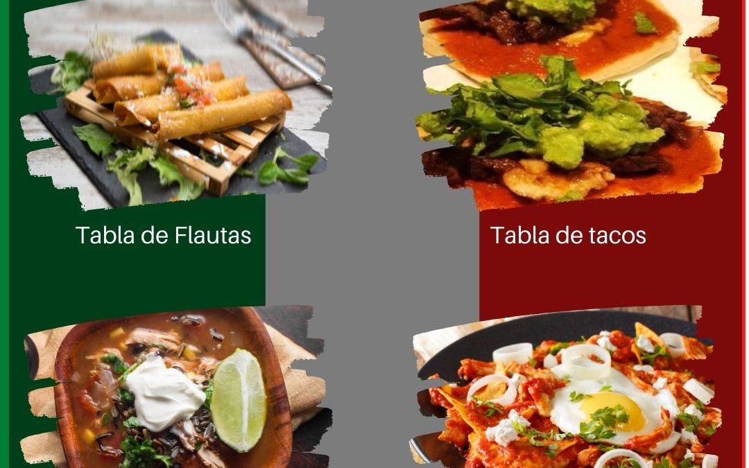 Menú Especial Mexicano